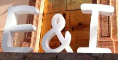 letras gigantes boda 3